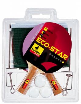 Bandito Tischtennisschläger Eco Star Komplett-Set *